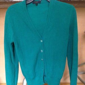 J. Crew 100% Cotton Cardigan Sweater